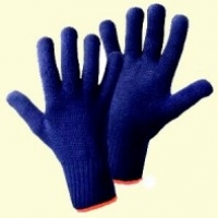 Handschuh Blue Strick